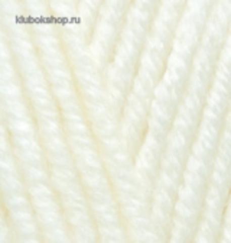 Alize Superlana maxi Св молочный 62 (5 шт.)
