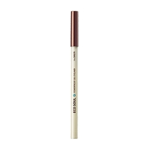 THE SAEM EYE Карандаш для глаз водост. гелевый 18 Eco soul Waterproof gel eyeliner 18.Bronze Brown 0.5гр