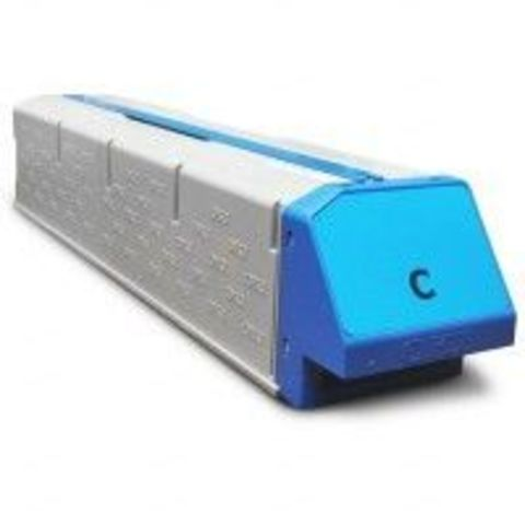 Совместимый картридж для OKI C911 голубой, ресурс 24000 стр. (45536415)