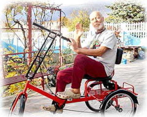 Трехколесные велосипеды для пожилых людей
