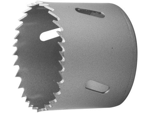 ЗУБР 114мм, коронка биметаллическая, быстрорежущая сталь