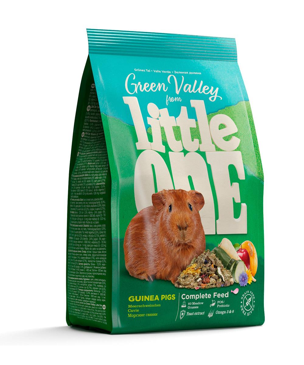 Грызуны и хорьки Корм Little One «Зеленая Долина» для морских свинок 31120.jpg
