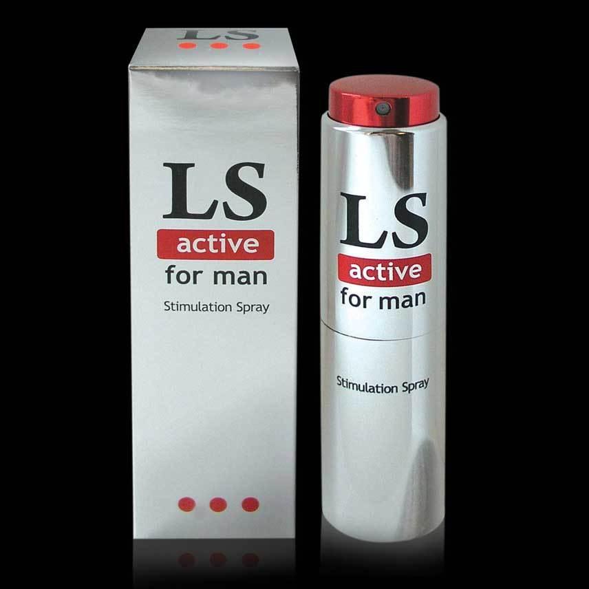 Возбуждающие: Спрей-стимулятор для мужчин Lovespray Active Man - 18 мл.