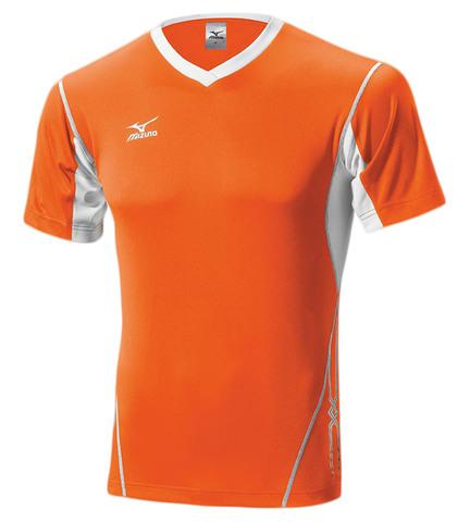 Волейбольная футболка Mizuno Premium Top мужская оранжевая