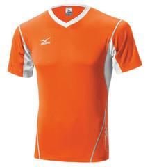 Мужская волейбольная футболка Mizuno Premium Top (V2EA4501M 54) оранжевая