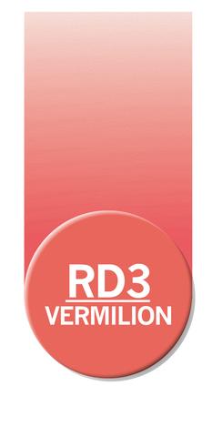 Маркер Chameleon Color Tones вермилион RD3