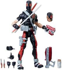 Фигурка Дэдпул с Оружием (Deadpool) и масками 30 см - Marvel Legends, Hasbro