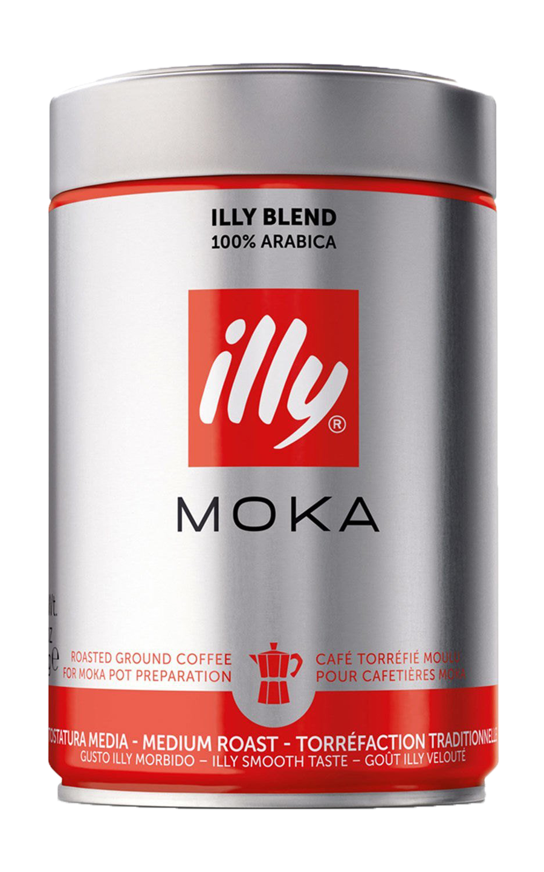 Кофе молотый ILLY MOKA средняя обжарка 250 гр