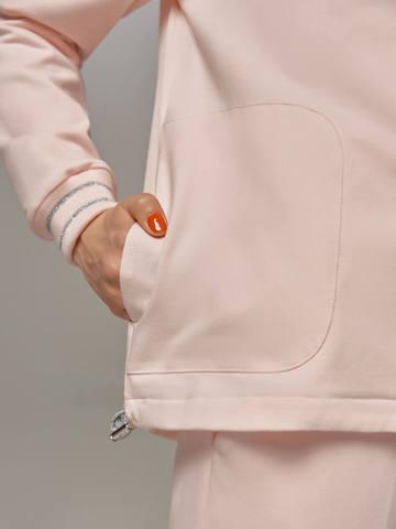 Женский розовый жакет LE TRICOT - фото 4