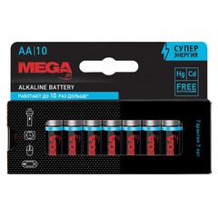 Батарейки ProMega, алкалин, MJ15A-2B10, AA, 10 шт/уп