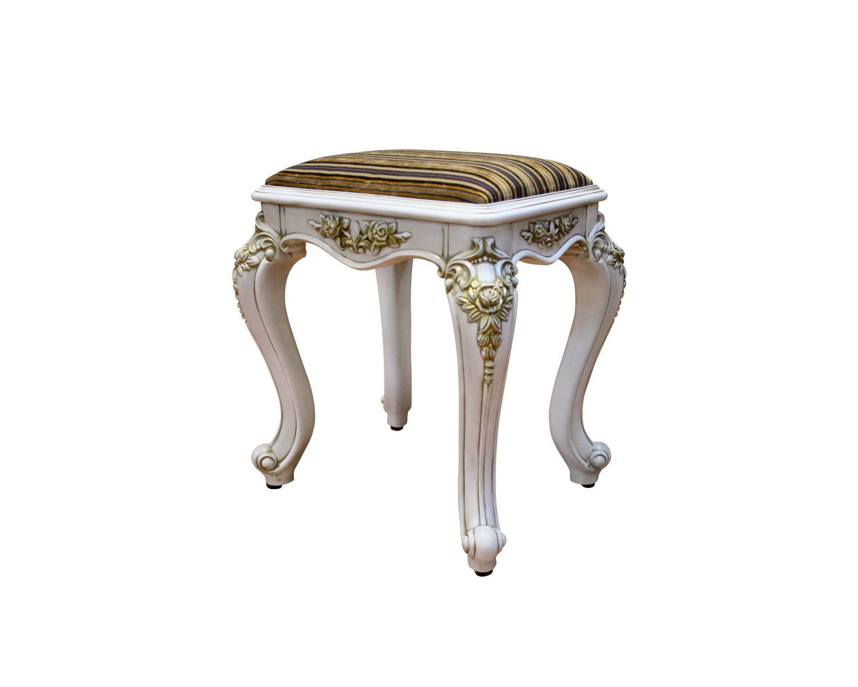 банкетка прямоугольная Венеция Люкс, патина золото