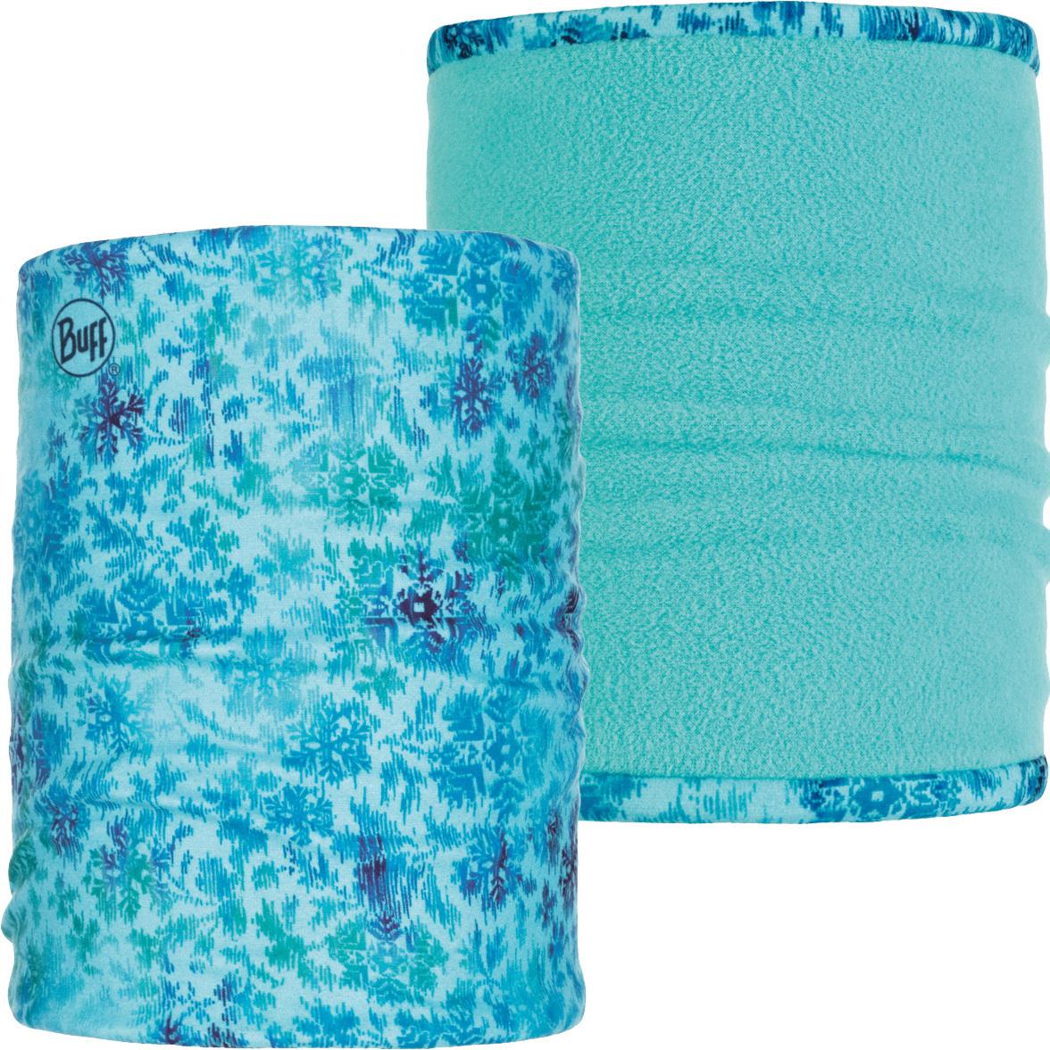Двойной флисовый шарф-труба Buff Firny Aqua