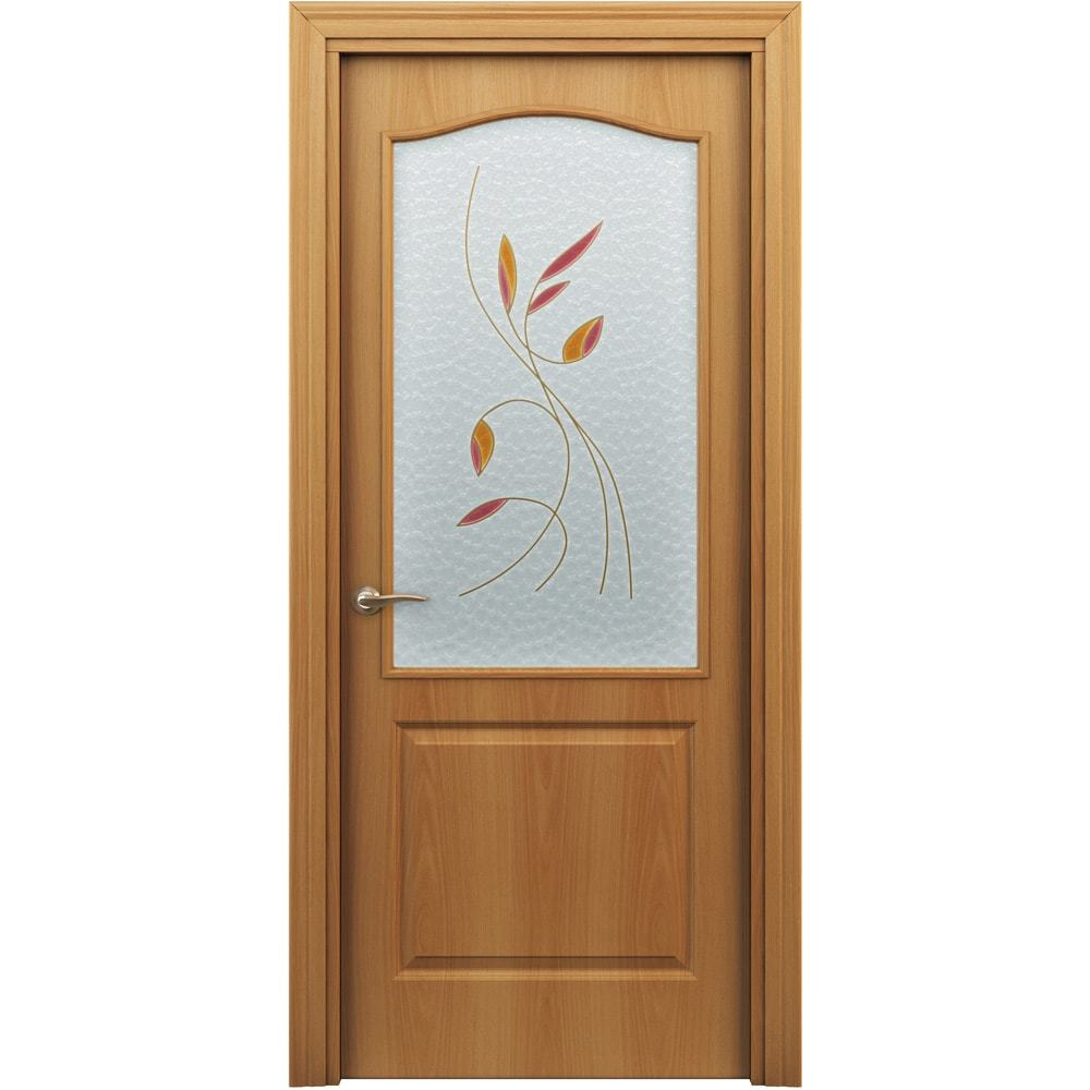 Ламинированные двери Палитра Люкс миланский орех стекло витраж palitra-po-milan-dvertsov-min.jpg