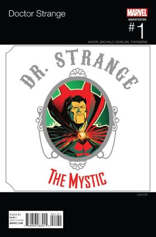 Doctor Strange #1 Doe Hip Hop Variant Edition