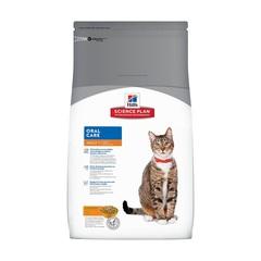 Hill's Science Plan Oral Care сухой корм для взрослых кошек для гигиены полости рта с курицей