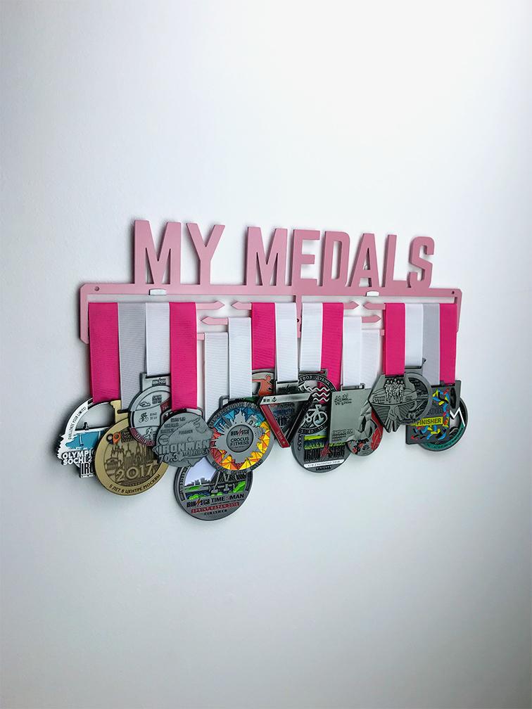Медальница  My medals 2.0 (розовый)