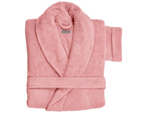 Элитный халат махровый Hanim&Sultan розовый от Hamam