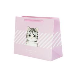 Пакет Kitty Wishes 25.5х32х11 см Pink