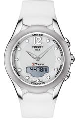 Женские часы Tissot T075.220.17.017.00 T-Touch Solar