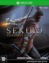 Xbox One Sekiro: Shadows Die Twice (русские субтитры)