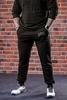 Спорт брюки Варгградъ «Бойцовская артель» (б/н) чёрные