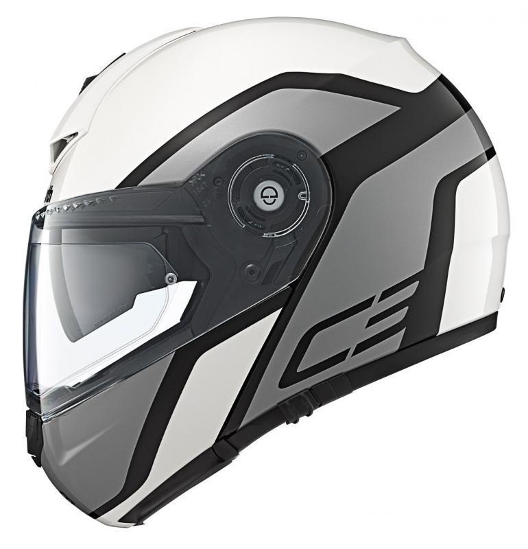 Schuberth, Шлем С3 PRO Observer, бело-серый