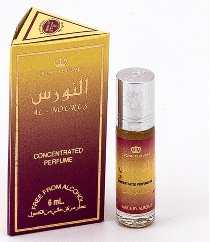 Арабские масляные духи AL - NOURUS, Al Rehab, 6 ml (ОАЭ)