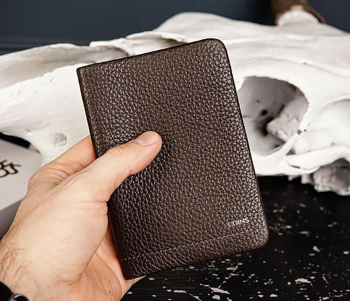 BC216-6 Коричневая обложка для паспорта из кожи «Hanz» фото 07