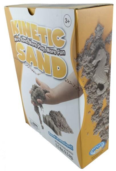 Кинетический песок 2,5 кг Wabafun