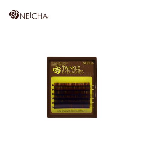 Ресницы NEICHA нейша 6 линий MIX темно-коричневые