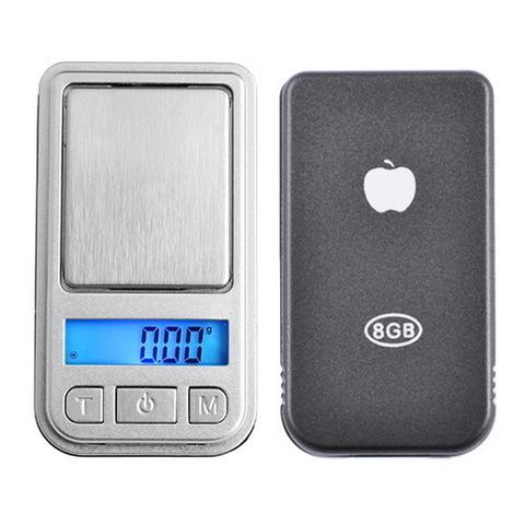 Весы ювелирные 6202, mini 2, 200г. (0,01г)