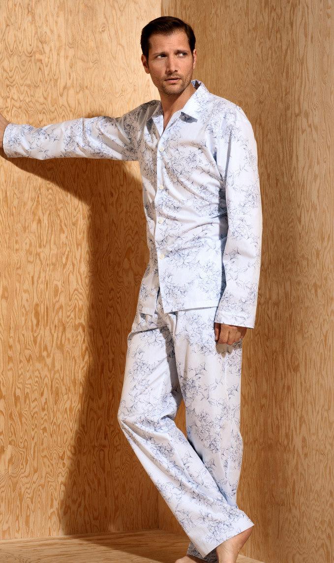 Мужская пижама с рисунком Zimmerli