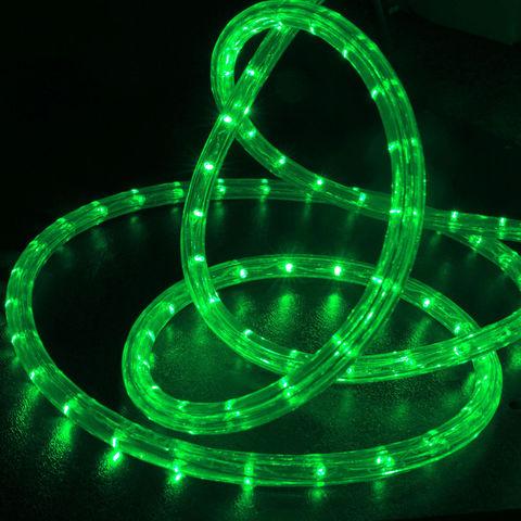 Зеленый дюралайт светодиодный шланг 10 метров готовый набор led