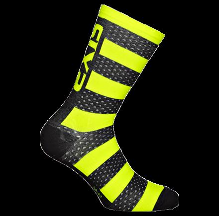 Sixs, Теплые термо-носки с мериносовой шерстью LUXURY MERINOS, желтый