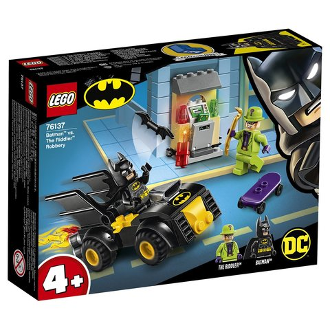 LEGO Super Heroes: Бэтмен и ограбление Загадочника 76137 — Batman vs. The Riddler Robbery — Лего Супергерои ДиСи
