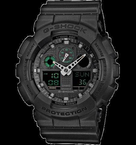 Купить Наручные часы Casio G-Shock GA-100MB-1AER по доступной цене
