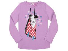 5016-9 джемпер детский, фиолетовый
