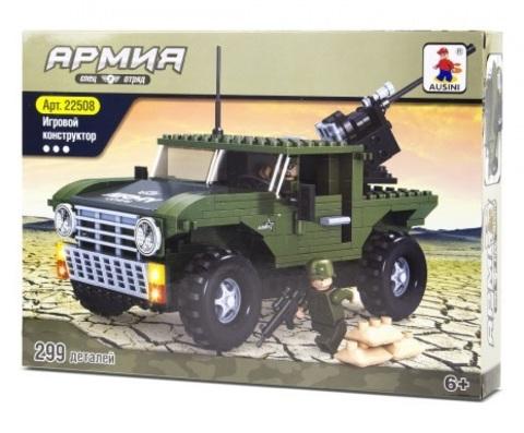 Конструктор серия Армия Военный джип