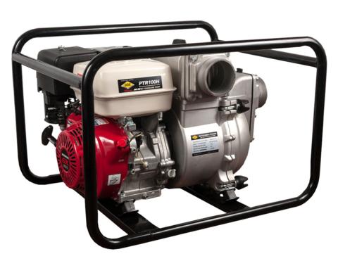 Мотопомпа бензиновая грязевая DDE PTR100H (вых 100мм,HONDA.GX390, напор 26м,1510л/мин,73кг (PTR100H), шт