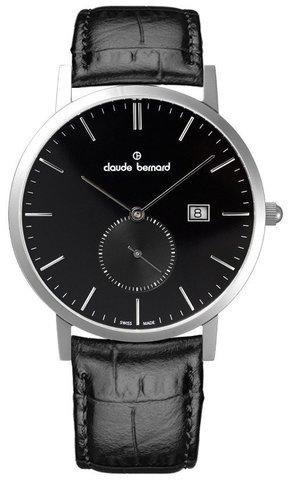 Купить мужские наручные часы Claude Bernard 65003 3 NIN по доступной цене