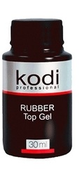 Kodi Rubber Top Gel Верхнее покрытие для гель лака 30 мл