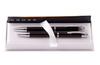 cross механический карандаш 250305 Набор Cross Helios Black Lacquer шариковая ручка и механический карандаш 0.9 ((AT0221G-9)
