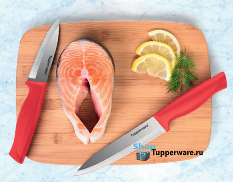 Ножи гурман для овощей и большой разделочный