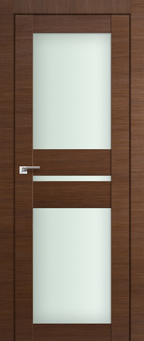> Экошпон Profil Doors №70X-Модерн, стекло матовое, цвет малага черри кроскут, остекленная