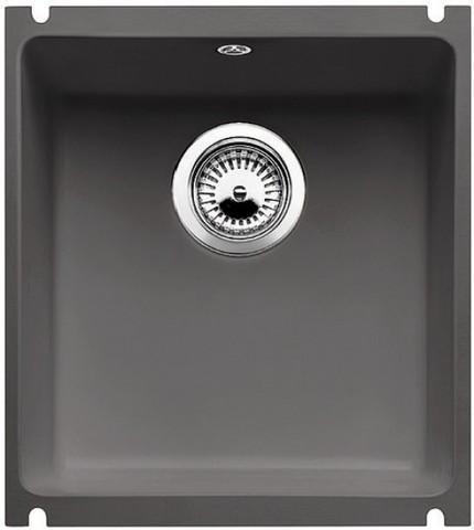 Кухонная мойка Blanco SUBLINE 375-U, отв.арм. InFino®, базальт