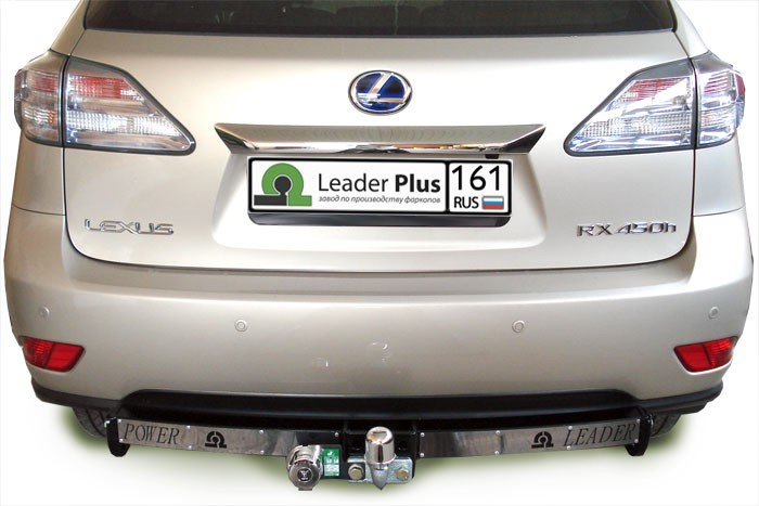 Фаркоп с нержавеющей пластиной Leader Plus L103-F(N) для LEXUS RX (2015 - по н.в) fast shipping dc motor for treadmill model a17280m046 p n 243340 pn f 215392