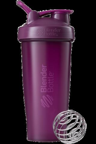 BlenderBottle Classic Шейкер классический с венчиком-пружинкой фиолетовый сливовый 828 мл