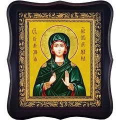 Иулиания Птолемаидская Святая мученица. Икона на холсте.