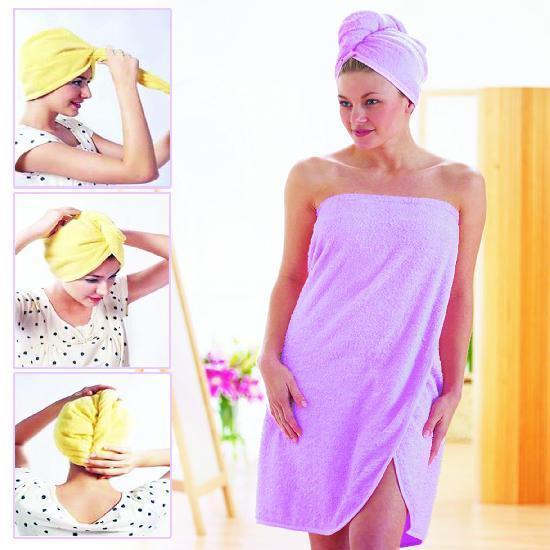 Товары для красоты Полотенце Magic Hair - drying Cap полотенце_шапка.jpg