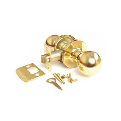 Ручка-защелка, Arsenal 607, межкомнатная, SB, Матовое золото
